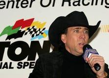 Nicolas Cage ska tjäna som som storslagen marskalk royaltyfri bild