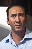 Nicolas Cage - statue de cire Photographie stock libre de droits