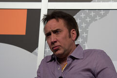 Nicolas Cage at SXSW 2014 royalty free stock image