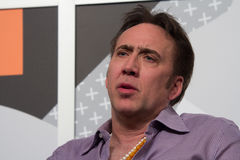 Nicolas Cage at SXSW 2014 Stock Images