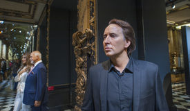 Nicolas Cage Wax Figure Stock Image