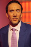 Nicolas Cage Waxwork exhibit Stock Photos