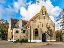 Nicolas Church on Vlieland, Holland Royalty Free Stock Photos