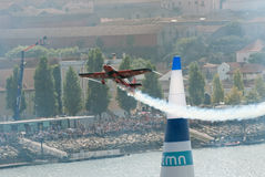 Nicolas Ivanoff (FRA) in Red Bull Air Race 2009 Stock Images