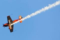 Nicolas Ivanoff (Hamilton). Aircraft:EDGE 540 Stock Image