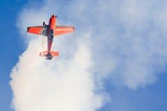Nicolas Ivanoff (Hamilton). Aircraft:EDGE 540 Royalty Free Stock Photos