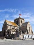 Nicolas kościół przy Barfleur, Normandy obraz stock