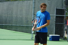 Nicolas Mahut (FRA) Royalty Free Stock Images