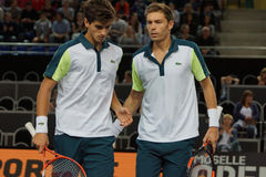 Nicolas Mahut i Hugues Herbert (FRA) (FRA) Zdjęcie Stock