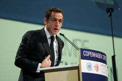 Nicolas Sarkozy Stockbilder