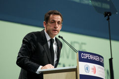 Nicolas Sarkozy Royalty Free Stock Photography