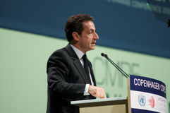 Nicolas Sarkozy Royalty Free Stock Images