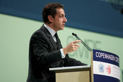 Nicolas Sarkozy Royalty Free Stock Photos