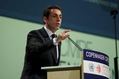 Nicolas Sarkozy royalty free stock photography