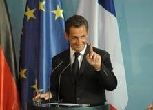 Nicolas Sarkozy Fotografia Stock