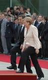 Nicolas Sarkozy, Angela Merkel Royalty Free Stock Images