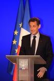 Nicolas Sarkozy del Presidente francese fotografia stock