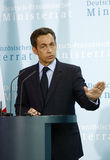Nicolas Sarkozy Royalty Free Stock Images