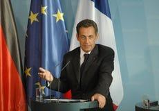 Nicolas Sarkozy Royalty Free Stock Image