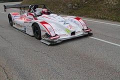 Nicolas Schatz gewinnt das Rennen Stockfoto
