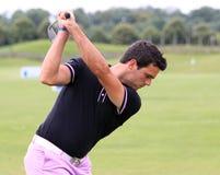 Nicolas Tacher en el golf francés abre 2013 Foto de archivo libre de regalías