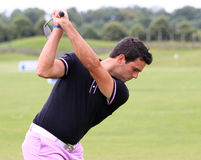 Nicolas Tacher at The French golf Open 2013 Royalty Free Stock Photo