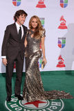 Nicolas Vallejo Najera, Paulina Rubio Royalty Free Stock Photography