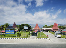 Nicolau lobito international airport in dili east timor Stock Photo