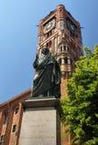 nicolaus памятника Коперника стоковое изображение rf