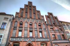 Nicolaus Copernicus house. Torun, Poland Royalty Free Stock Image