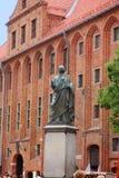 Nicolaus Copernicus monument in Torun Stock Image