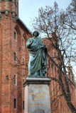Nicolaus Copernicus monument. Torun, Poland Royalty Free Stock Photography