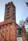 Nicolaus Copernicus monument. Torun, Poland Royalty Free Stock Image
