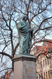 Nicolaus Copernicus monument. Torun, Poland Stock Photography