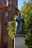 Nicolaus Copernicus Monument Royalty Free Stock Images