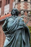 Nicolaus Copernicus. Nicolaus Copernicus statue in Old Town, Torun, Poland Royalty Free Stock Photos