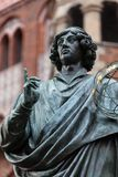 Nicolaus Copernicus. Nicolaus Copernicus statue in Old Town, Torun, Poland Royalty Free Stock Photography