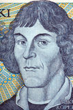 Nicolaus Copernicus portrait from old one thousand zloty Stock Photos