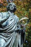 Nicolaus Copernicus statue in Torun, Poland Royalty Free Stock Images