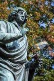 Nicolaus Copernicus statue in Torun, Poland Royalty Free Stock Photography
