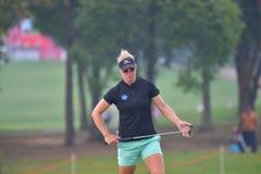 Nicole Broch Larsen in Honda LPGA Thailand 2018 Royalty Free Stock Image
