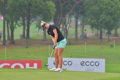 Nicole Broch Larsen in Honda LPGA Thailand 2018 Stock Photos
