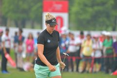 Nicole Broch Larsen in Honda LPGA Thailand 2018 Stock Photography