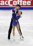 Nicole DELLA MONICA, Matteo GUARISE/(ITA) Obraz Royalty Free