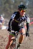 Nicole Duke - Professional Woman Cyclocross Racer Royalty Free Stock Image