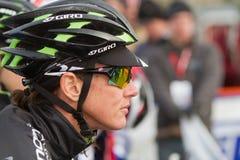 Nicole Duke - Professional Woman Cyclocross Racer Royalty Free Stock Photography