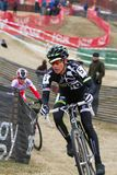 Nicole Duke - Professional Woman Cyclocross Racer Royalty Free Stock Images
