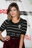 Nicole Gale Anderson komt bij de Parade van Kerstmis Hollywood van 2011 aan Stock Afbeeldingen