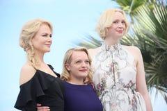 Nicole Kidman, βρύο της Elisabeth, Gwendoline Christie Στοκ φωτογραφία με δικαίωμα ελεύθερης χρήσης