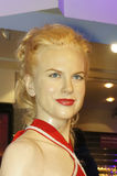 Nicole Kidman. Picture of Nicole Kidman model at Madam Tussauds Royalty Free Stock Image